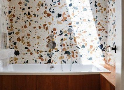 granito ambiance pop dans salle de bains