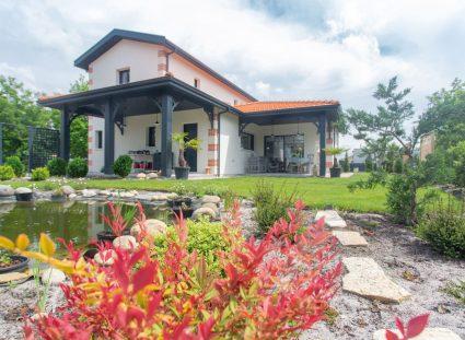 maison arcachonnaise avec grand jardin