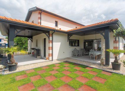 maison arcachonnaise avec jardin design