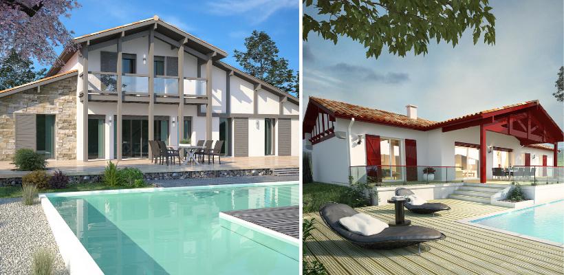 modèles de maisons basques IGC