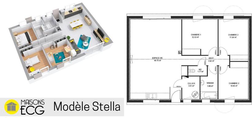 Modèle de maison Stella