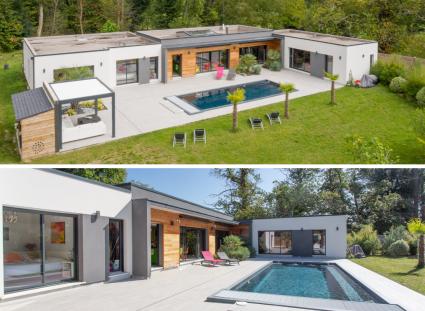 jolie maison style villa californienne