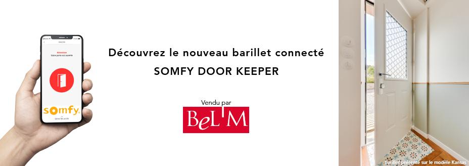 Découvrez la porte connectée Bel'M