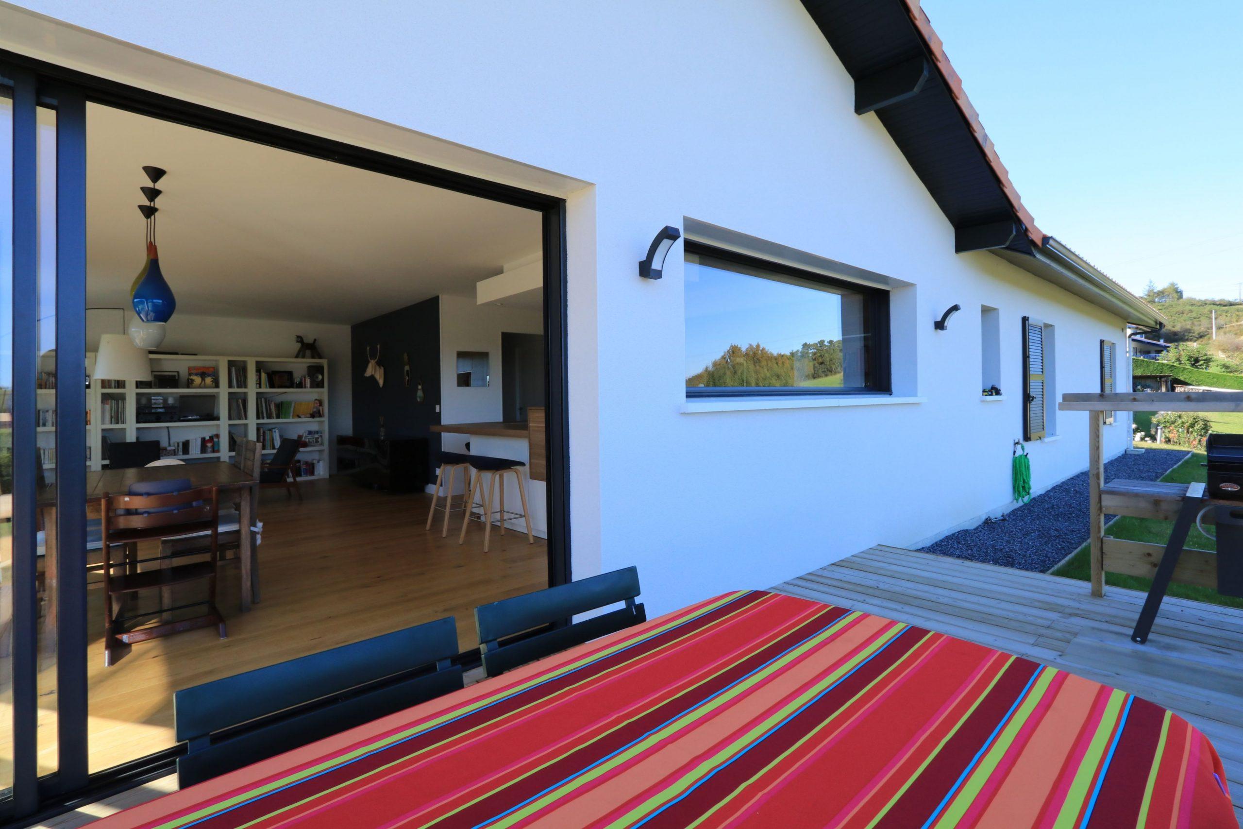 maison basque contemporaine
