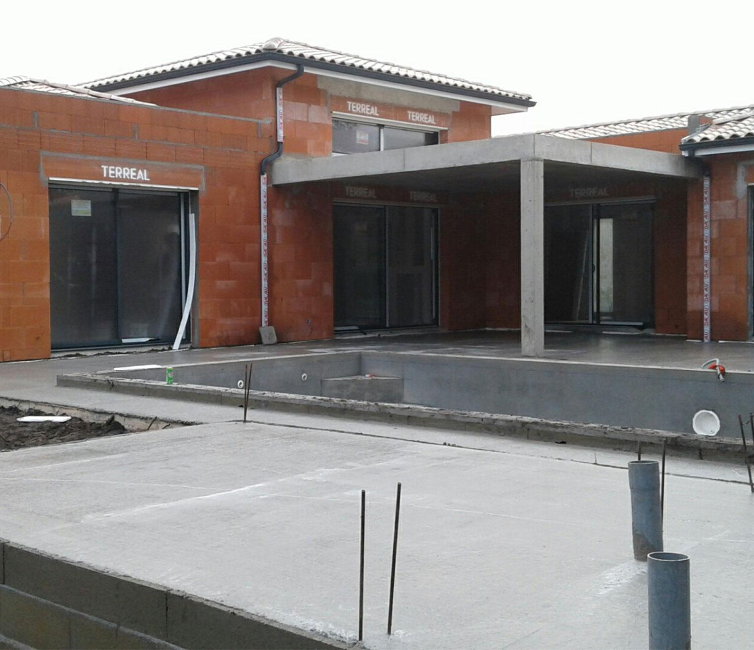 maison IGC en chantier