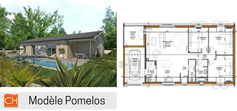 modèle de maison pomelos