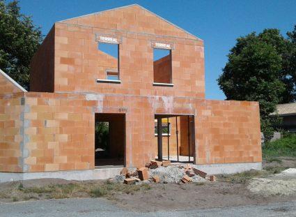 élévation des murs maison arcachonnaise