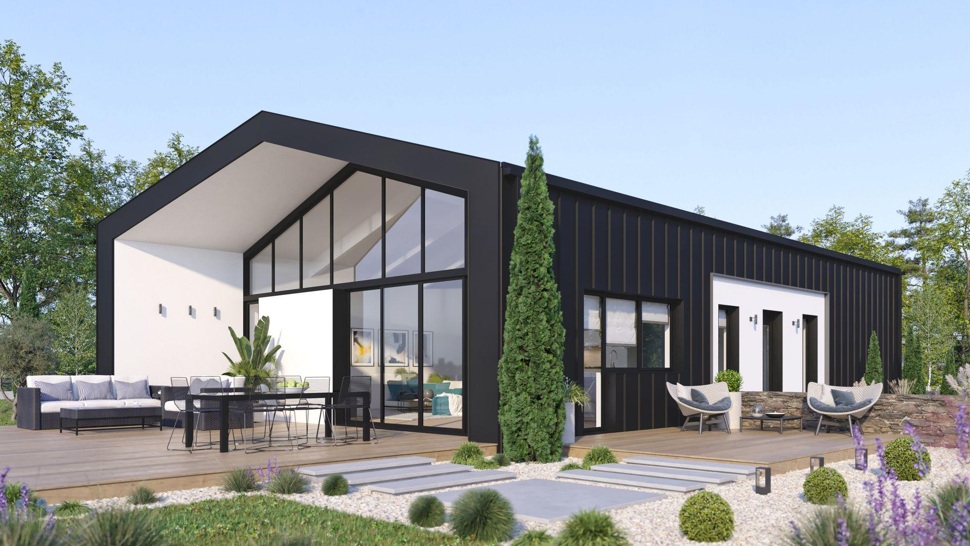 Modèle de maison neuve à construire