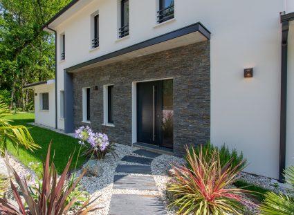 porche entrée d'une maison design