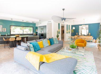maison design avec grand séjour