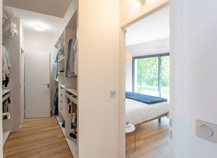 chambre avec dressing dans maison design