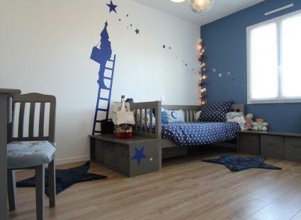 chambre aux couleurs apaisantes