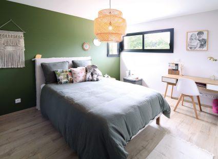 chambre avec couleur originale