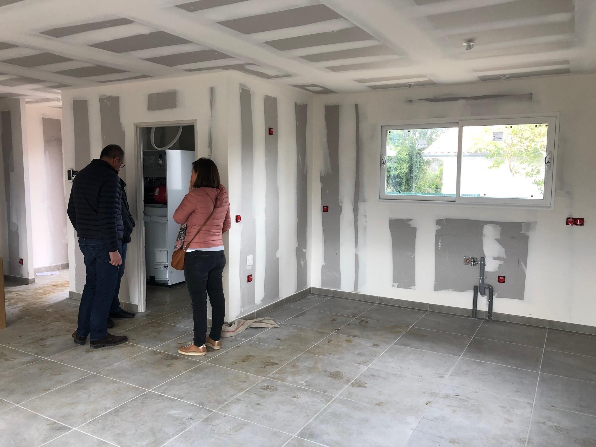 les visites de chantier maison