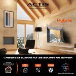 Choisissez aujourd'hui l'isolant de demain : Hybris d'ACTIS