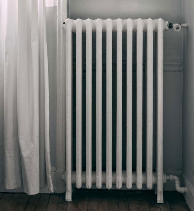 allumer les radiateurs à l'eau chaude