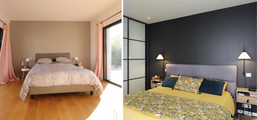 agencement des meubles dans la chambres