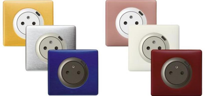prises de courant munie d'un chargeur USB intégré
