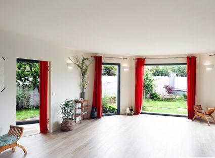 maison avec pièce destinée au yoga