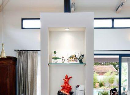 maison plain pied avec rangements proche cheminée