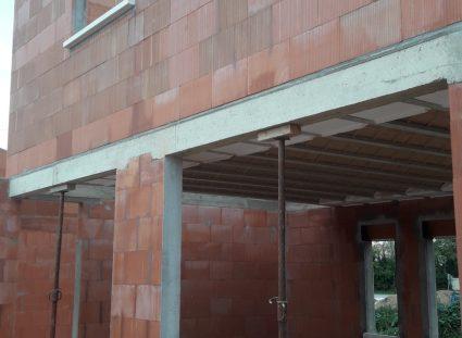 emplacement pour baies vitrées