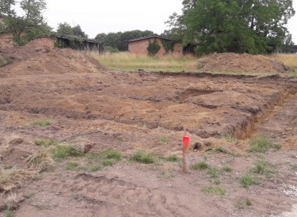 fondations et terrassement de la maison