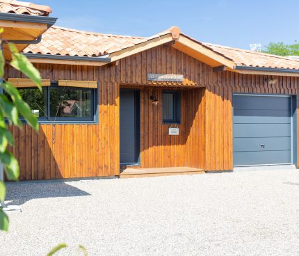 maison bois signée IGC Bois