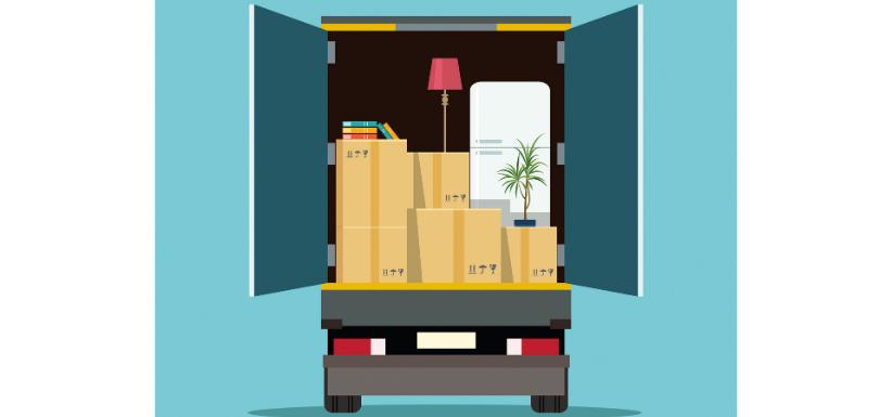 Avoir un camion de déménagement