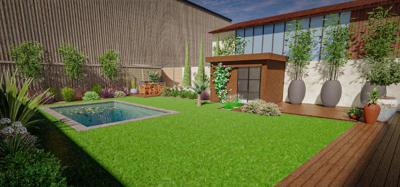 Image jardin 3D de composemonjardin