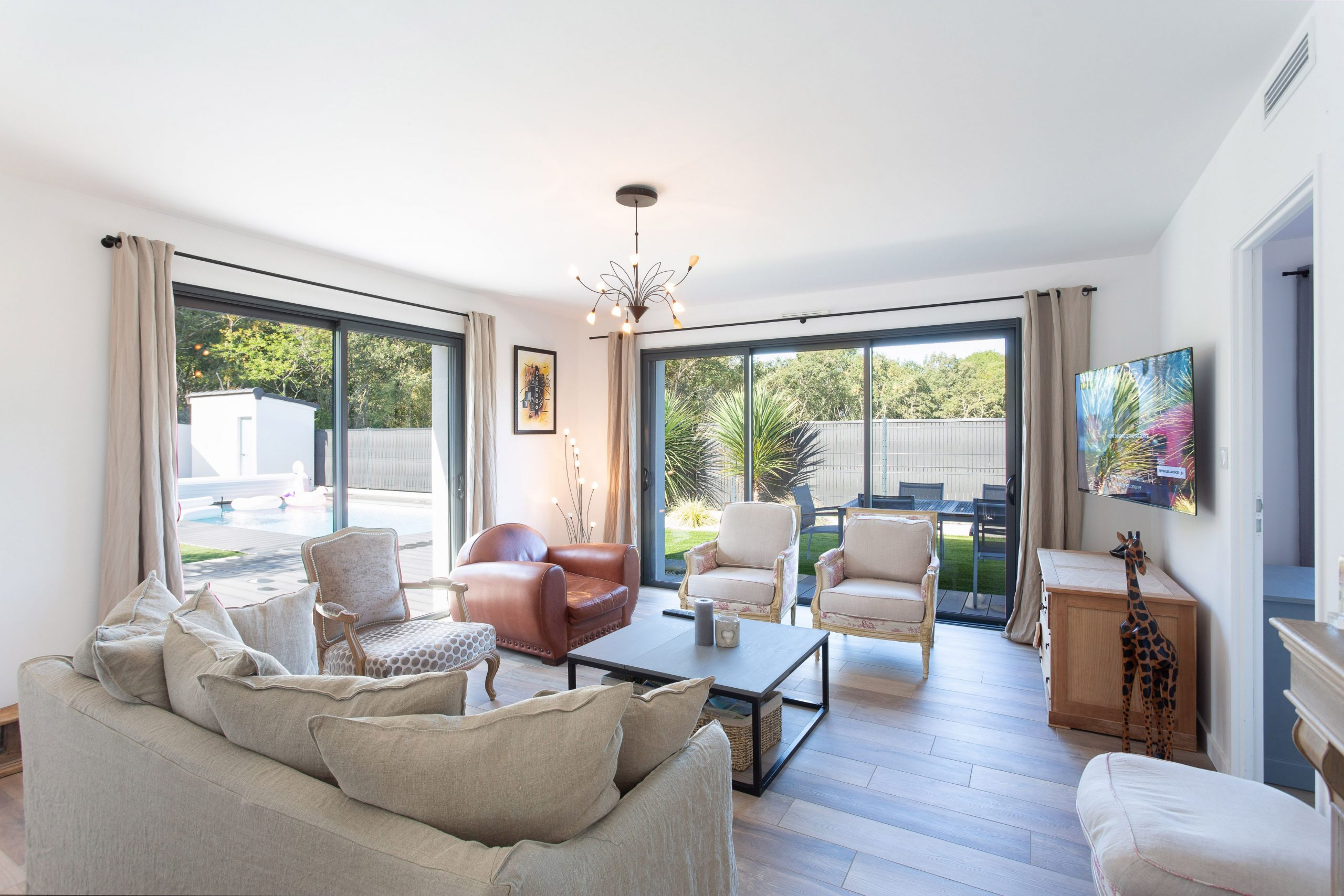 acheter une maison avec un séjour lumineux