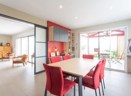 cuisine de 21 m² dans une maison basque