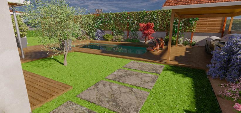 image 3D de votre jardin