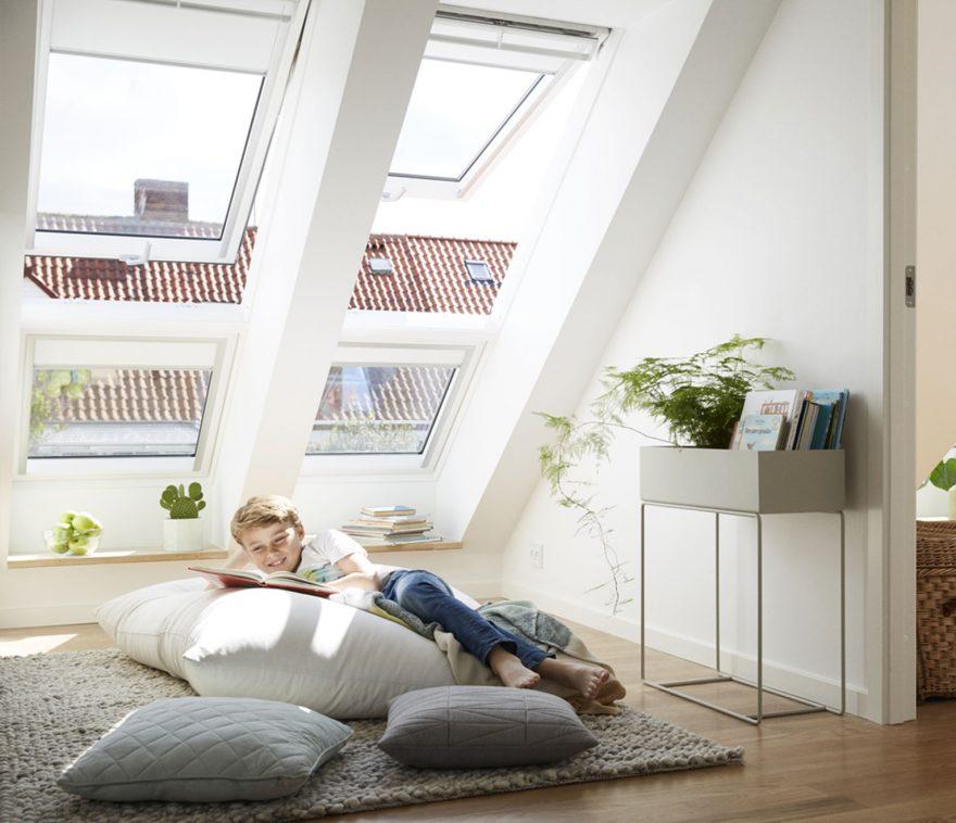 lumiere naturelle avec fenêtre de toit