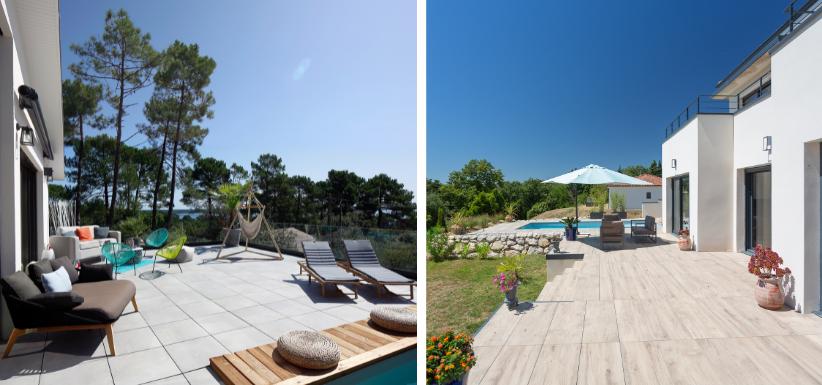 les matériaux pour votre terrasse