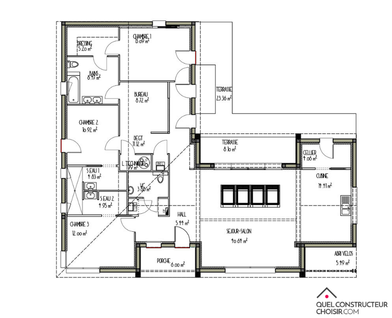 plan de maison et design