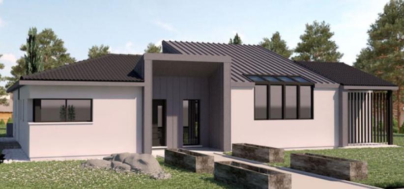 maison moderne et design Ariane