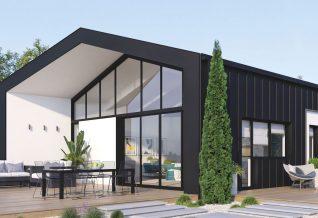 maison moderne modulable-façade extérieur