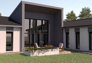 maison moderne spring Home